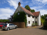 A detached property near Chertsey